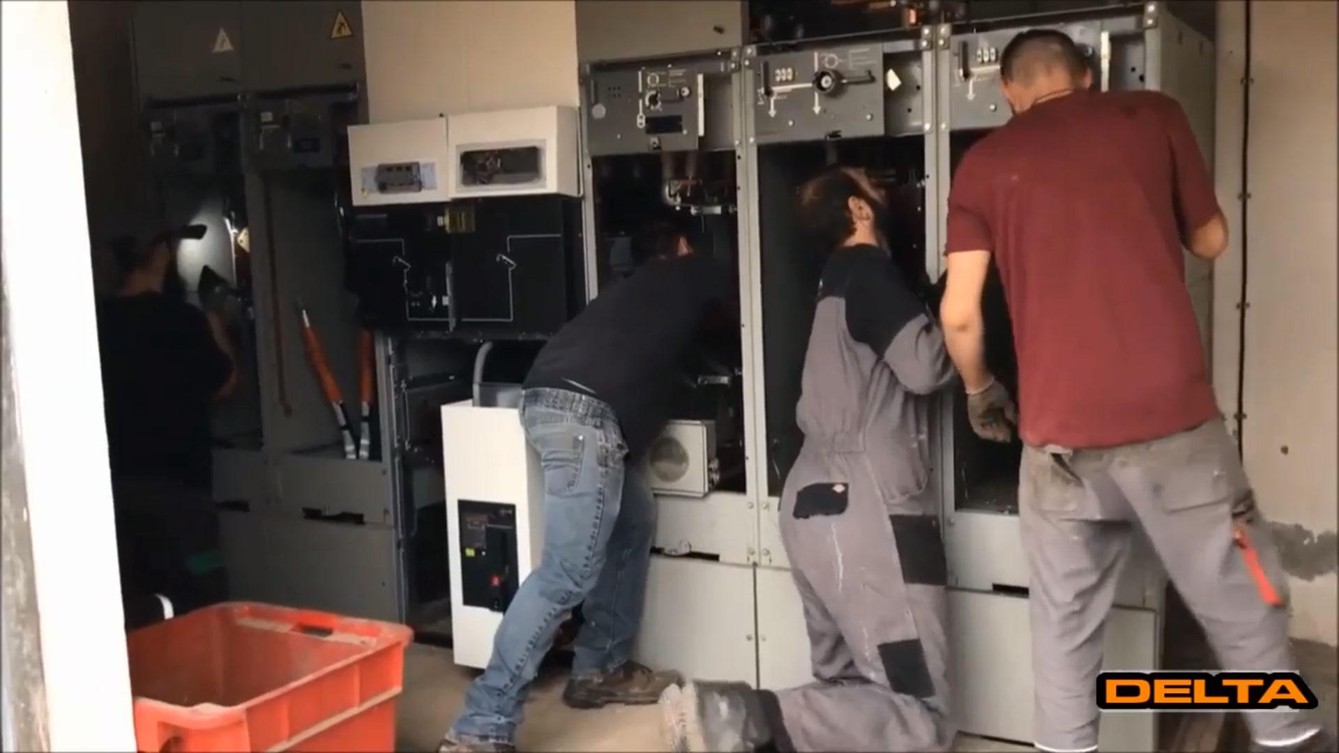 Equipe Delta automatisme tableau haute tension