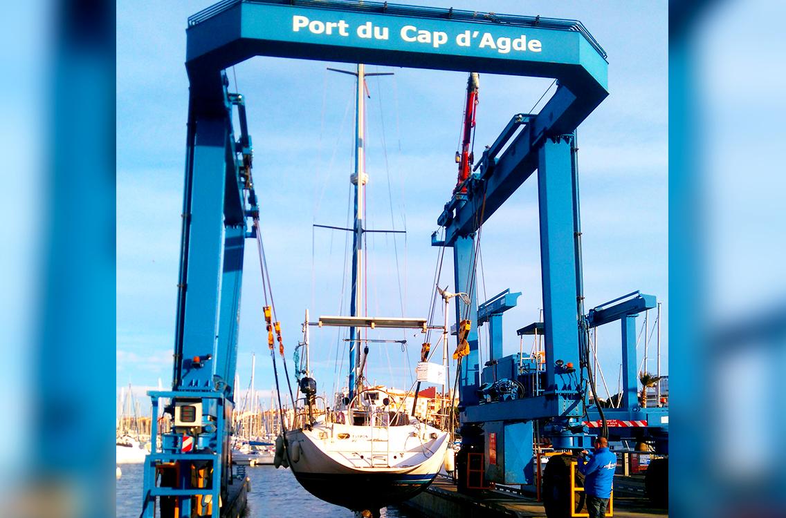 Réalisation de Delta automatisme pour le port du Cap d'Agde