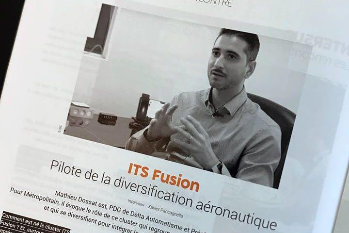 Interview de Mathieu Dossat - Delta automatisme